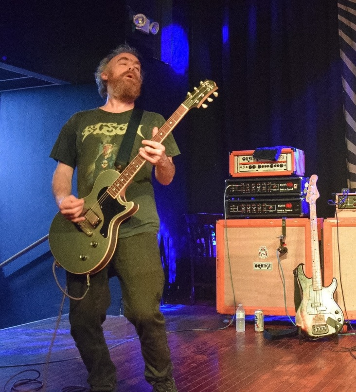 David Sullivan (guitar) from the band Red Fang during their performance at The Masquerade in support of their latest LP, Only Ghosts.