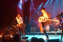 Cut Copy performing at the Variety Playhouse in Atlanta during their Haiku from Zero tour.